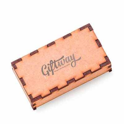 caixa de presente com acabamento especial em mdf - GiftWay