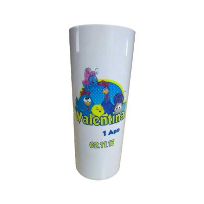 Dream Brindes - Copo long drink personalizado galinha pintadinha