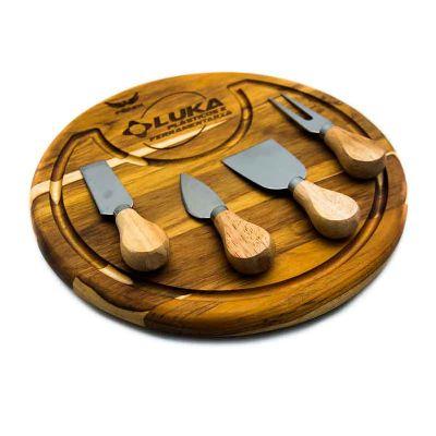Legno Artes - Tábua para queijos completa