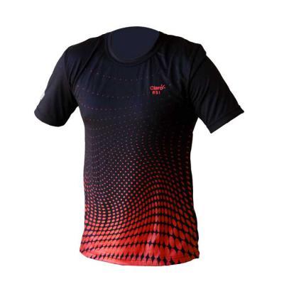 Camiseta confeccionada em malha PV (malha fria) com estampa aplicada. - SP Uniformes