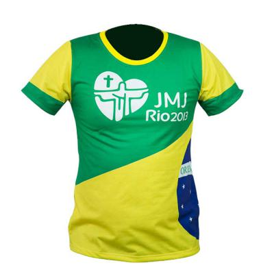 SP Uniformes - Camiseta gola redonda 100% sublimada
