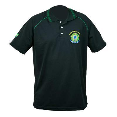 sputnik-uniformes - Camisa gola polo, piquet com bordado na frete e mangas, detalhes nas mangas com vivo.