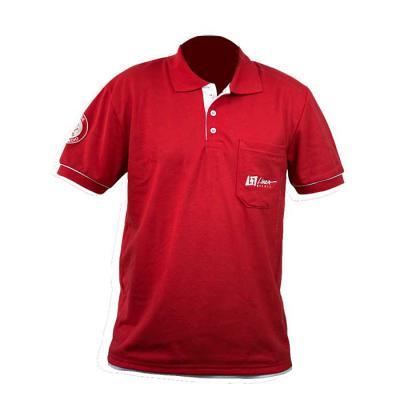 sputnik-uniformes - Camisa gola pólo, malha Piquet PA (50% algodão / 50% poliéster), com bolso e bordado na manga