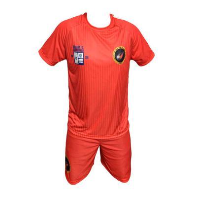 sputnik-uniformes - Conjunto confeccionado na malha Dry Sport com proteção UV, secagem rápida e ótima absorção na cor vermelha