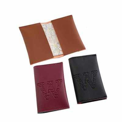 Porta passaporte material soft color / impressão baixo relevo / Tamanho 14 x 9 cm - Wersatil