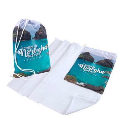 wersatil - Toalha de praia acoplada com mochila