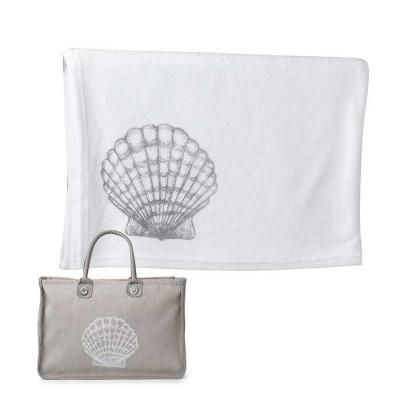 wersatil - Toalha felpa especial, 100% algodão, impressão baixo relevo ou silk. Tamanho da toalha puro conforto 0.90 x 1.50 cm Bolsa em material natural ou couro...