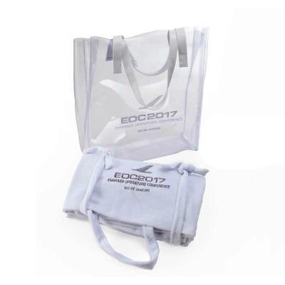 wersatil - Bolsa em pvc 0.40 com alças em verniz  Tamanho: 36 x 32 x 10 cm Impressão: silk Toalha felpa atoalhada