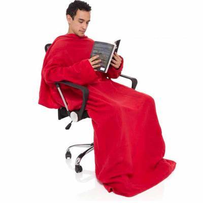 Manta com mangas  Material soft  Tamanho: 1.90 x 1.30 cm  Impressão bordado tamanho único . - Wersatil