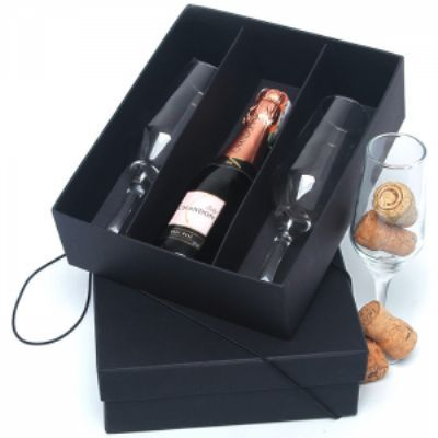 A & T Brindes - Kit mini chandon para brinde