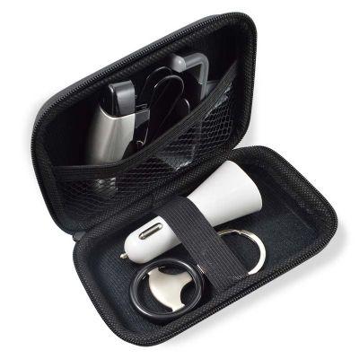 A & T Brindes Promocionais - Kit veicular com estojo em eva personalizado