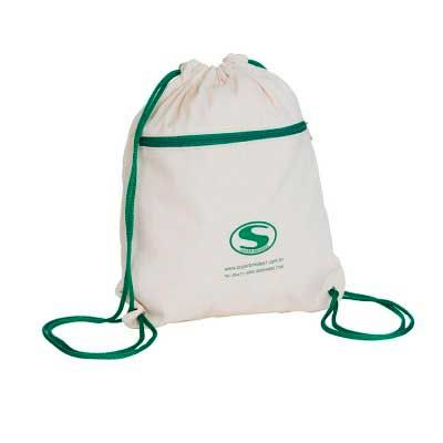 A & T Brindes Promocionais - Mochila saco de lona personalizada