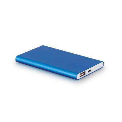 a-e-t-brindes - Bateria portátil slim personalizada