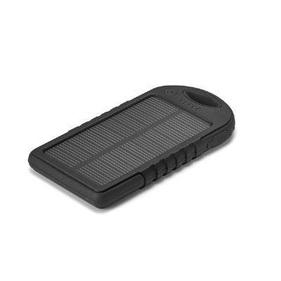 A & T Brindes Promocionais - Bateria portátil solar personalizada