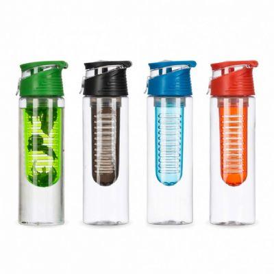 a-e-t-brindes-promocionais - Garrafa squeeze com infusor personalizada