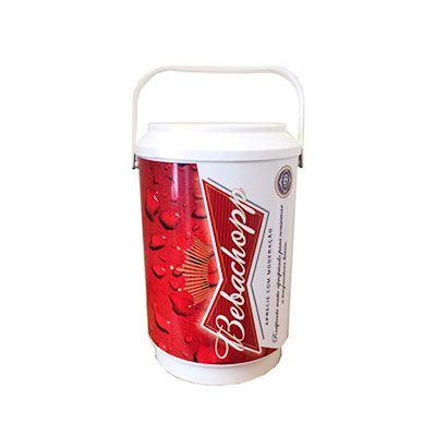 gj-brindes - Cooler personalizado para 6 latas