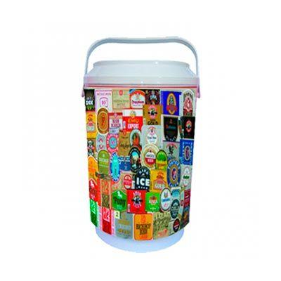 gj-brindes - Cooler personalizado para 8 latas