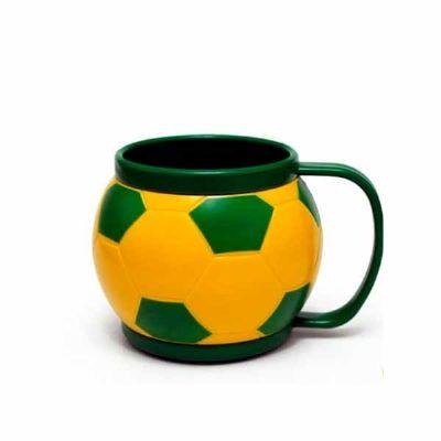 GJ Brindes - Caneca bola de futebol