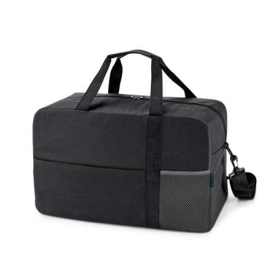 A HEXA Bolsa esportiva é uma mala incrível fabricada em Nylon 600D com fundo com placa semi-rígida para dar melhor sustentação. Possui bolso frontal c... - GJ Brindes