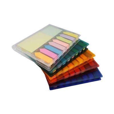 Bloco de anotações com sticky notes - GJ Brindes