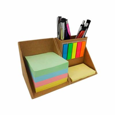 GJ Brindes - Bloco de notas cubo com sticky notes