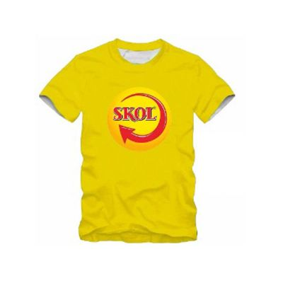 Camiseta personalizada com logo - NewSilk