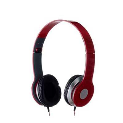 Fone de ouvido estéreo articulável, protetor em couro sintético com espuma e material plástico inteiro colorido com detalhes prata. Headfone de hastes... - NewSilk