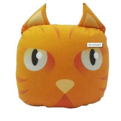 FaraOne - Almofada gato laranja