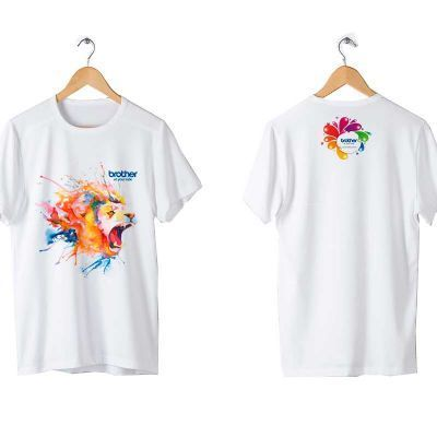 FaraOne - Camiseta 100% algodão com ribana reforçada e fio 30x1. Estampa com impressão digital (direct to garment), Bordado ou  Vinil com a melhor qualidade e d...