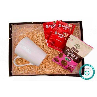 Kit Chá embalado em caixa - K3 Brindes