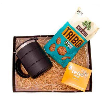 K3 Brindes - Kit Chá embalado em caixa