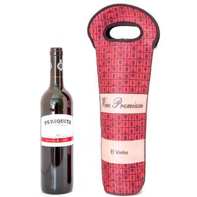 k3-brindes - Kit Vinho com Vinho Periquita Original 375 ml ou 750 ml
