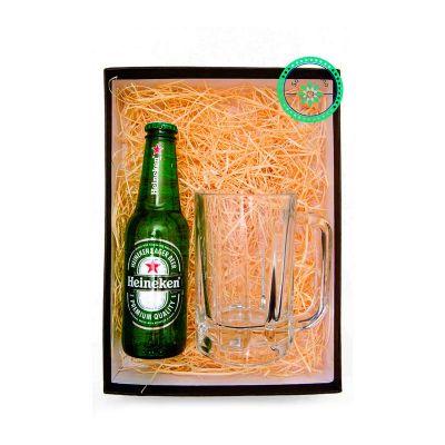 Kit Cerveja com 1 caneca de chopp e 1 cerveja Long Neck