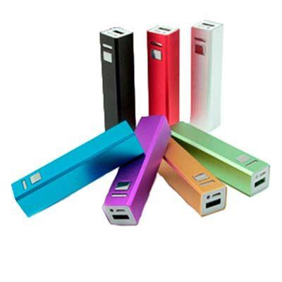 Malu Brindes - Carregador portátil personalizado para celulares e tablets