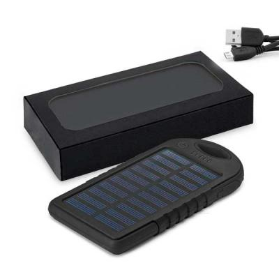 Bateria portátil solar - Spaceluz Brindes