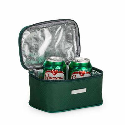 Spaceluz Brindes - Bolsa térmica 2,6 litros em nylon com alça para mão, parte interna com revestimento térmico e acompanha plaquinha para personalização avulsa.  Tamanho...
