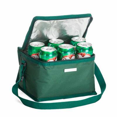 Spaceluz Brindes - Bolsa térmica 8 litros em nylon com bolso traseiro externo de malha, duas alças para mãos, sendo uma delas ajustável.Parte interna com revestimento té...