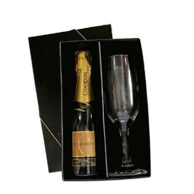 Kit chandon 1 taça - Spaceluz Brindes