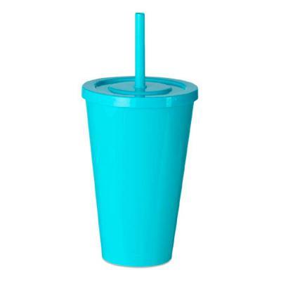 Spaceluz Brindes - Copo plástico 600ml , pintura leitosa.  Tamanho total aproximado (CxD): 16 cm x 9,9 cm x 28,8 cm - Canudo 20,5 cm  Peso aproximado (g): 54  Gravação e...