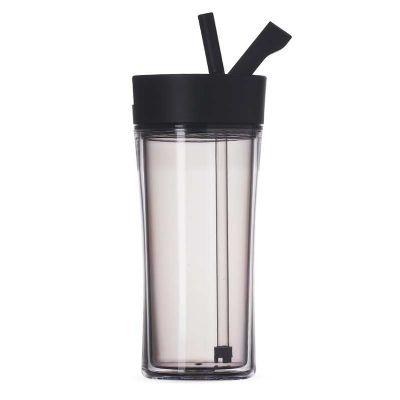 spaceluz-brindes - Copo plástico 500ml com tampa de bico