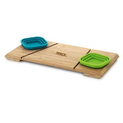 Spaceluz Brindes - Kit - Base de mesa com 2 potes