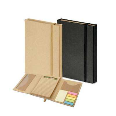Kit para escritório com caderno - Spaceluz Brindes