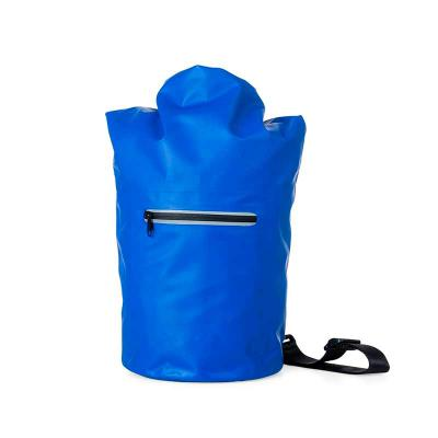 Mochila saco 10 litros à prova d´água. Material confeccionado em lona, possui costura soldada resistente, lacre dobrável, alça ajustável para costa(re... - Spaceluz Brindes
