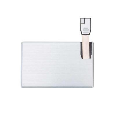 spaceluz-brindes - Pen Card 4GB Alumínio