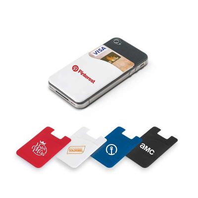 Spaceluz Brindes - Porta cartão para celular