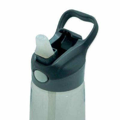 spaceluz-brindes - Squeeze 650ml plástico com acionador para abertura