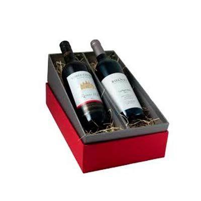 Spaceluz Brindes - Kit para 2 garrafas de vinho