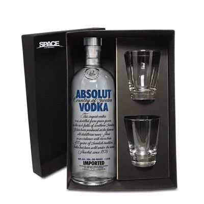 Spaceluz Brindes - Kit Vodka Absolut