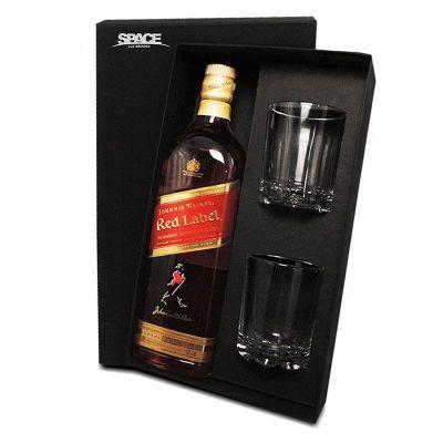 Kit Whisky Red Label - Spaceluz Brindes