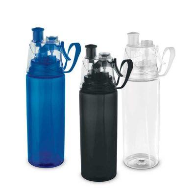 spaceluz-brindes - Squeeze plástico borrifador de água